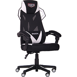 Кресло VR Racer Radical Brooks черный/белый TM AMF