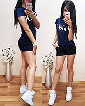 Костюм летний футболка + шорты, размеры s m l xl Турция, фото 2