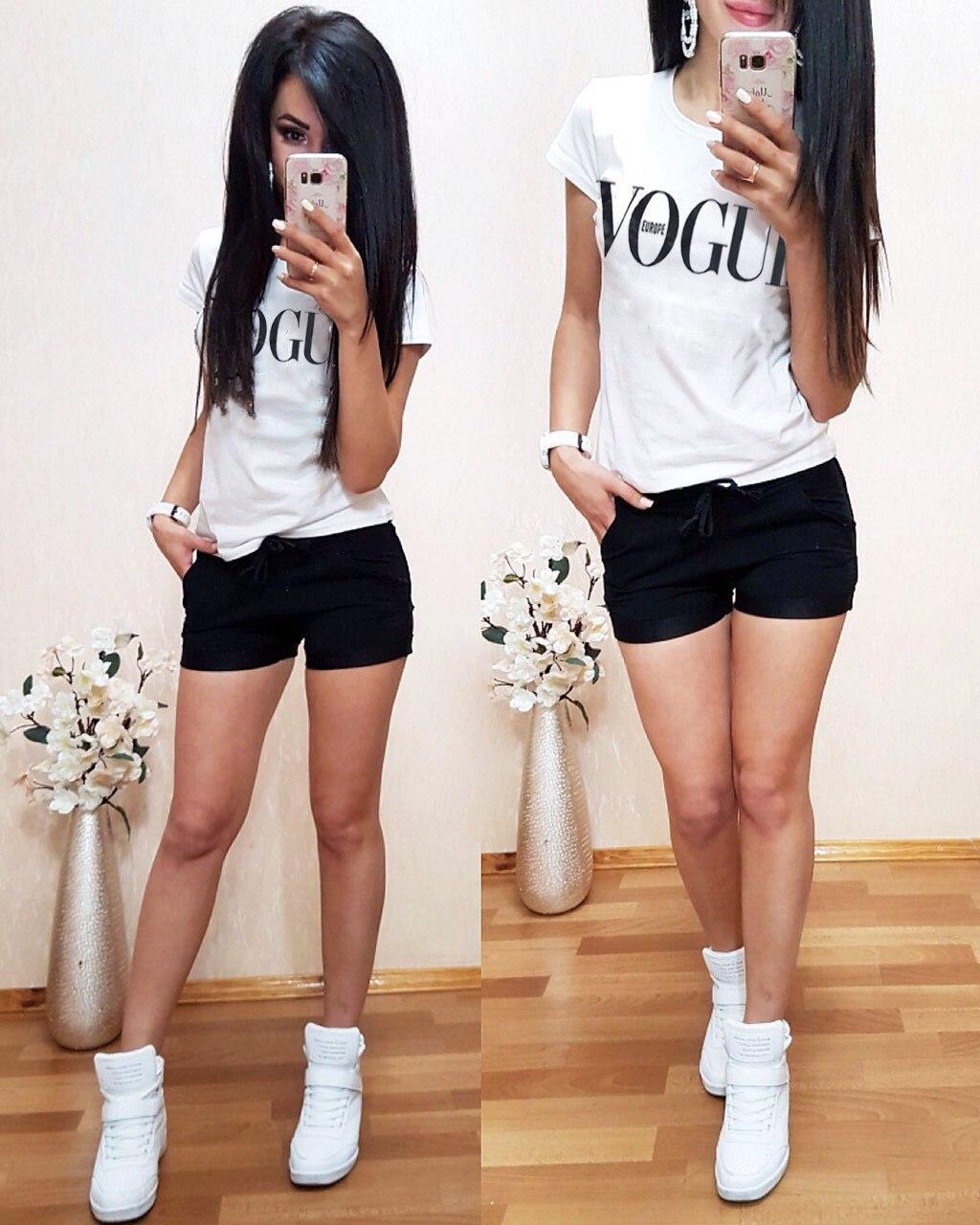 Костюм летний футболка + шорты, размеры s m l xl Турция