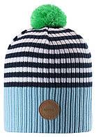 Демисезонная шапка для мальчика Reima 538069-6983. Размер 48 - 58.