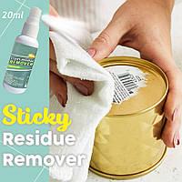 Спрей очиститель для удаления липких остатков наклеек, скотча, клея
