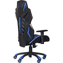Кресло VR Racer Radical Krios черный/синий TM AMF, фото 2