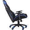 Кресло VR Racer Radical Krios черный/синий TM AMF, фото 3