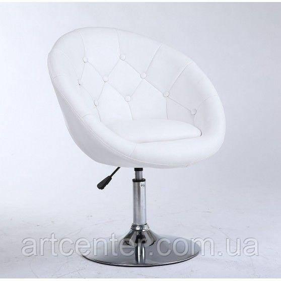 Парикмахерское кресло HC-8516 белое