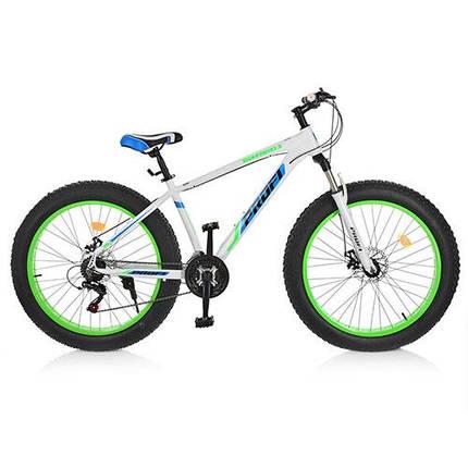 """Велосипед спортивный Profi 26"""" EEB26HIGHPOVER 2.0 A26.1 белый, фото 2"""