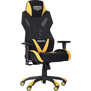Кресло VR Racer Radical Wrex черный/желтый TM AMF