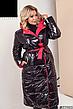 Женское зимнее двухстороннее пальто размеры: 42-58, фото 2