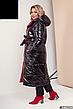 Женское зимнее двухстороннее пальто размеры: 42-58, фото 4