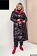 Женское зимнее двухстороннее пальто размеры: 42-58, фото 5