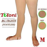 Лосины для художественной гимнастики Tuloni размер M (155-170) цвет Телесный, T03981M