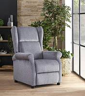 Крісло розкладне AGUSTIN сірий (Halmar)