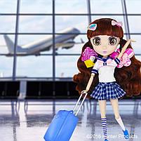 Кукла Shibajuku Girls Namika Шибаджуку Намика (33 см, 6 точек артикуляции, с аксессуарами), фото 4