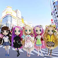 Кукла Shibajuku Girls Namika Шибаджуку Намика (33 см, 6 точек артикуляции, с аксессуарами), фото 5