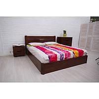 Кровать Олимп Айрис с подъемным механизмом массив бука