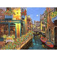 Ночная Венеция. Марічка. Схема на ткани для вышивания бисером