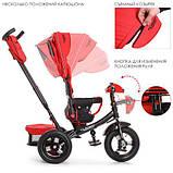 Велосипед детский трехколесный TURBOTRIKE  M 4060-1 колясочного типа, фото 2