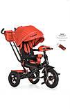 Велосипед детский трехколесный TURBOTRIKE  M 4060-1 колясочного типа, фото 6