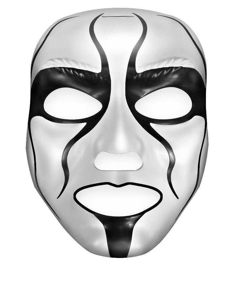 Маска Стинга Mattel (WWE Superstar Sting Mask)