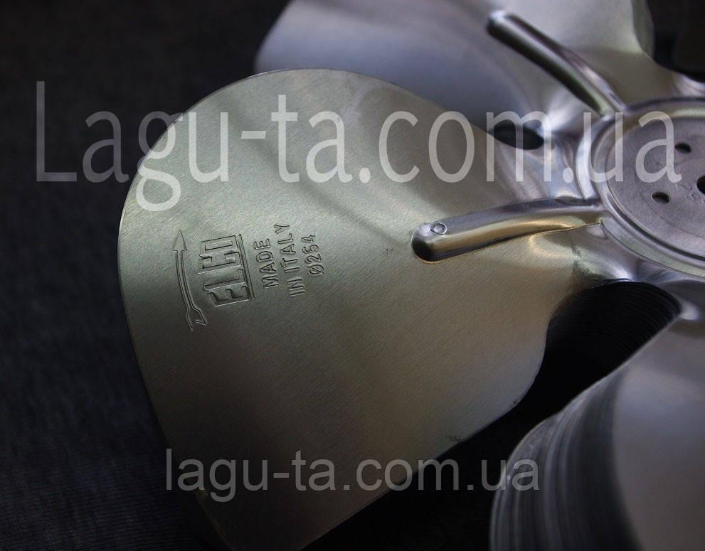 Крыльчатка алюминиевая 254 мм. нагнетание.
