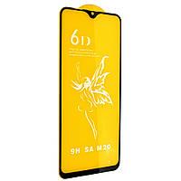 Стекло 6D Samsung Galaxy M20 (SM-M205) - защитное, premium