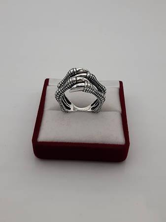 """Серебряное кольцо """"Когти Дракона"""""""