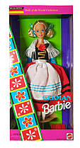 Коллекционная кукла Барби Германия Куклы Мира Barbie German Dolls of the World Collection 1994 Mattel 12698