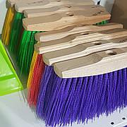 Щетка - метла нейлон жесткая 24×16 см