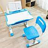 Эргономический комплект Cubby парта и стул-трансформеры Vanda Blue, фото 5