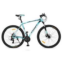 """Велосипед Profi 27,5"""" G275PRECISE A275.1 спортивный мята алюминиевая рама 19"""""""