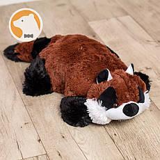 Подушка-игрушка Енот Коричневый