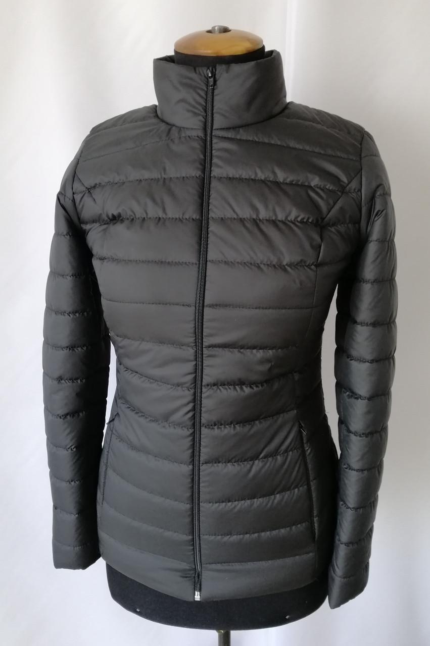 Женская весенняя куртка  модная    42-48 черный