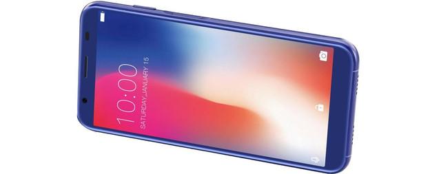 Описание, внешний вид Doogee X55 1/16Gb Blue
