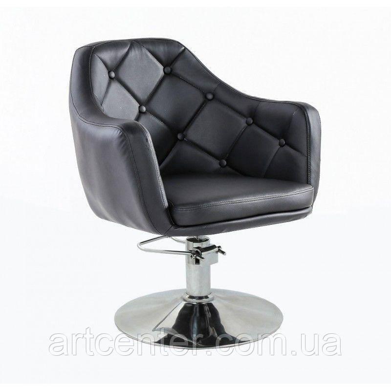 Кресло парикмахерское HC831H черное ГИДРАВЛИКА