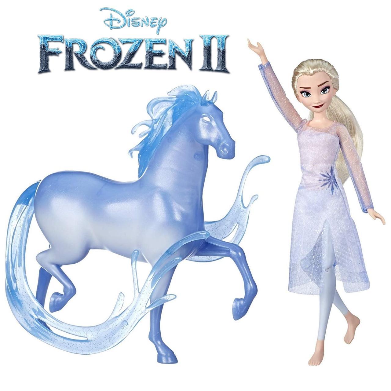 Лялька Ельза Крижане серце 2 з конем Нокк Disney Frozen Elsa Fashion Doll & Figure Nokk