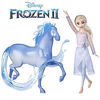 Кукла Эльза Холодное сердце 2 с лошадью Нокк Disney Frozen Elsa Fashion Doll & Nokk Figure