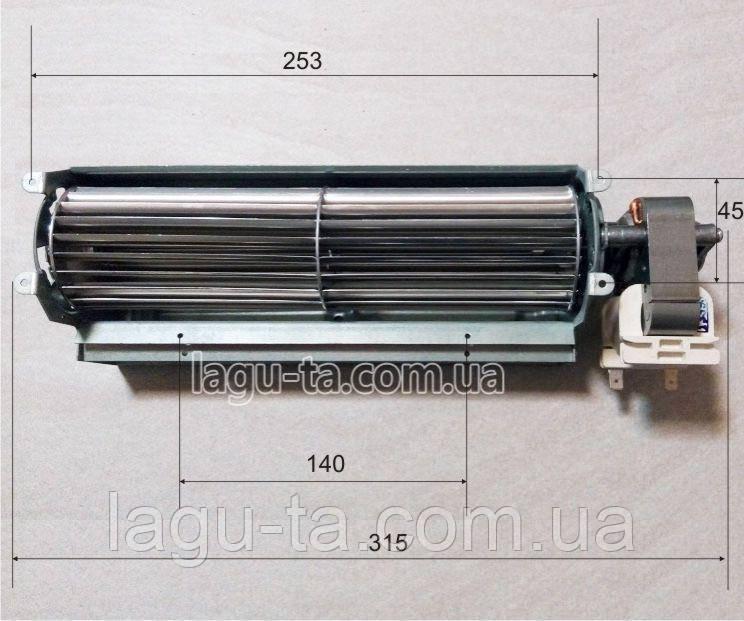 Тангенциальный вентилятор 240мм