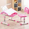 Эргономический комплект Cubby парта и стул-трансформеры Vanda Pink, фото 3