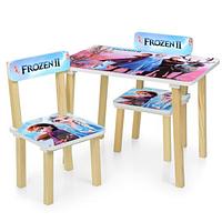 Детский столик и два стульчика 501-81 FROZEN.