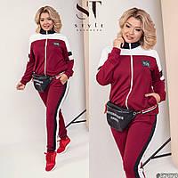 Спортивный костюм женский. Отличное качество! БАТАЛ 48-54(3расцв), фото 1