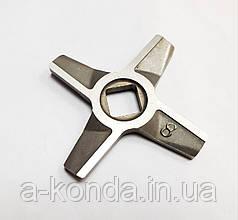 Оригинальный двусторонний нож для мясорубки Zelmer NR8 86.3109 10003883-1
