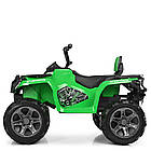 Детский электрический квадроцикл BAMBI M 3999EBLR-5 зеленый, фото 2