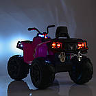 Детский электрический квадроцикл BAMBI M 3999EBLR-5 зеленый, фото 3