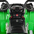 Детский электрический квадроцикл BAMBI M 3999EBLR-5 зеленый, фото 6