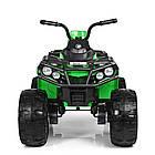Детский электрический квадроцикл BAMBI M 3999EBLR-5 зеленый, фото 7