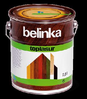 BELINKA Toplasur, лазурь для дерева, зелёная (19), 2,5л, фото 2