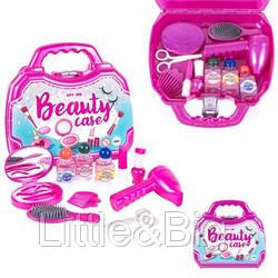 Игровой набор для девочки косметичка в чемодане(199)