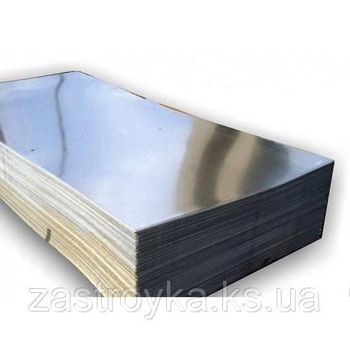 Лист оцинкованный гладкий 1000х2000х0,4мм RooFFix