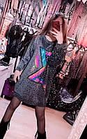 """Туніка жіноча в'язана з люрексом, розмір 42-52 (2цв) """"SPRING"""" недорого від прямого постачальника, фото 1"""