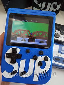 Портативная игровая приставка Sup - 400 игр  ( Цвета  Голубой)