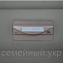 Надувная велюр кровать с электронасосом 220В. Размер: 152х203х46 см. Нагрузка: 273 кг. Intex 64770, фото 3